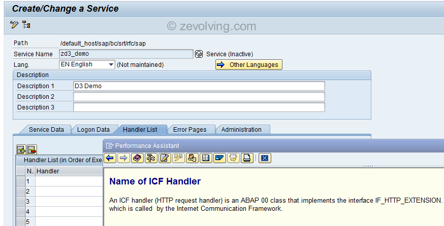 F1 Help on RESTful Web Service Handler Class