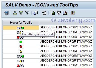 SALV Table 18 - ICONs and Tooltips | ABAP Help Blog