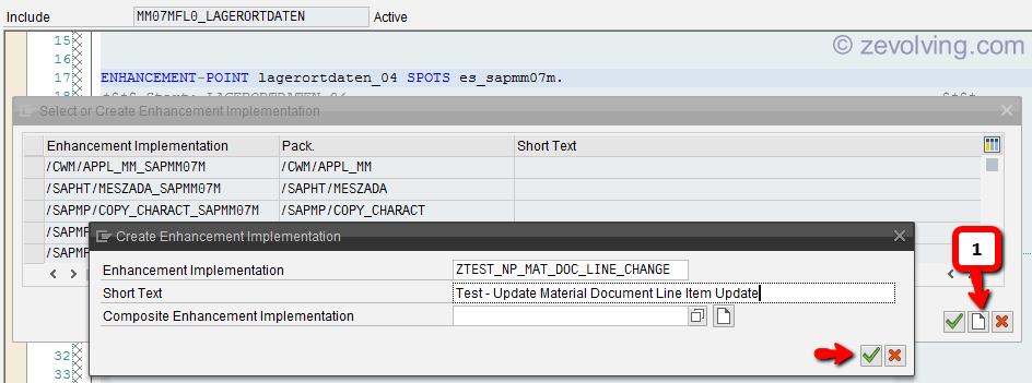 ABAP Enhancement Framework - Explicit Enhancement-POINT