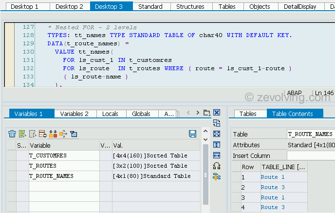 ABAP_740_FOR_Example_3_Nested For