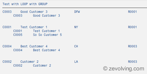 ABAP_740_Loop_Group_Example_3_Output