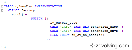 ABAP_740_Switch_Usage_Factory_Method