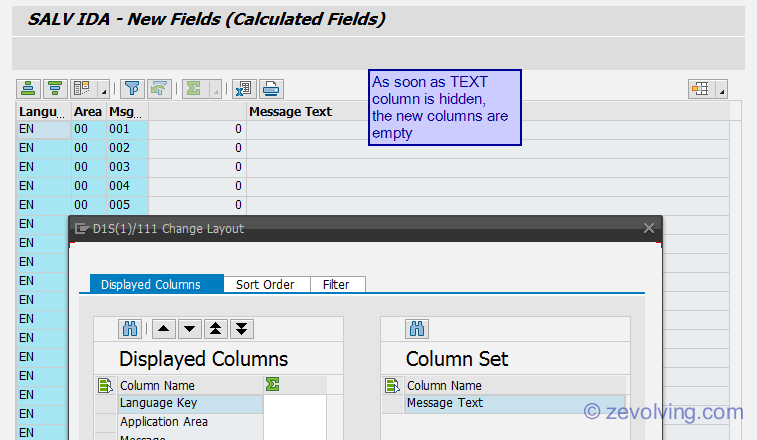 SALV IDA - New Calculated Fields | ABAP Help Blog