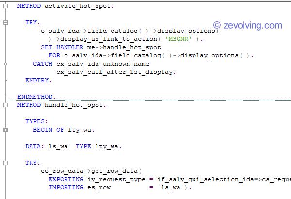 SALV_IDA_Hotspot_Hyperlink_Handling_code